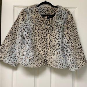 RAGA faux fur leopard print jacket